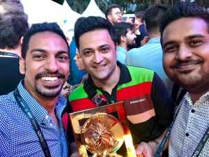 Representing Sri Lanka at Cannes Lions Festival 2019, a great privilege for Young Lions team from Fonterra