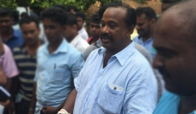 Herdsman Arrested By Police For Attempting To Attack UPFA MP Susantha Punchinilame With Sickle