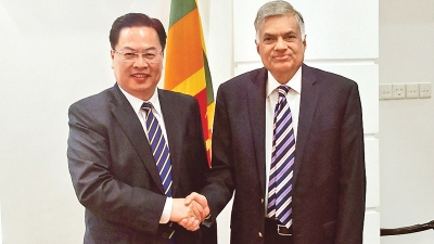 Chinese Ambassador Says Colombo Port City, H'Tota Port And Industrial Park Are New Powerful Engines Of Sri Lankan Economy