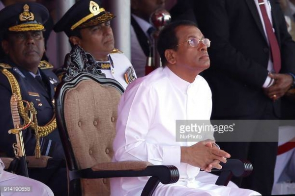 President Sirisena Makes Shocking Statement: Publicly Says He Is Unaware Who Made 'The 100 Day Programme'