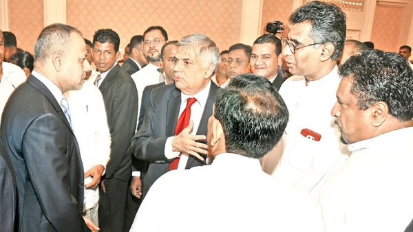 Ranil Says Depriving Him Of Premiership Despite Showing A Parliamentary Majority Is Sirisena's Problem