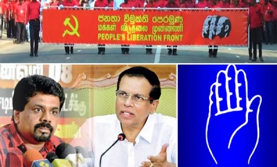 Keen Tussle Suddenly Emerges Between SLFP And JVP For Third Place In Local Government Polls