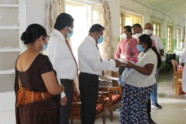 "People's Bank hosts 'Birth of Freedom"" programme at Nawalapitiya District General Hospital"