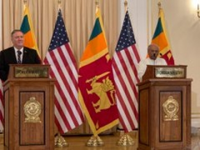 Pompeo Reaffirms US Commitment To A Sovereign And Secure Sri Lanka
