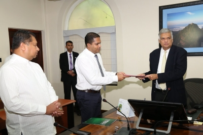 Harin Fernando Gets Officially Appointed As UNP's New Communications And Propaganda Secretary