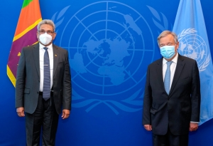 President Meets UN Secretary-General: Guterres Assures Fullest Cooperation To Promote Unity Among Communities