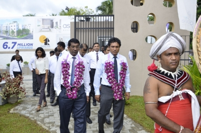 Aspire Residencies project breaks ground in Athurugiriya