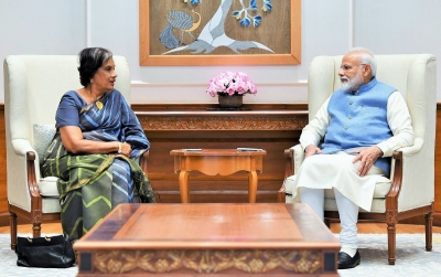 CBK Meets Narendra Modi: Former President In India To Attend World Sustainable Development Summit