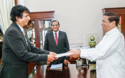 Dappula De Livera Takes Oaths As 47th Attorney General Before President Sirisena
