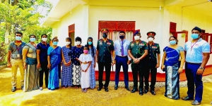 People's Bank steps in to help family of a deceased Army officer in commemoration of its 60thanniversary