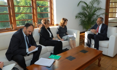 OHCHR Delegation Meets Sagala: Discussions On UN Human Rights Commissioner's Report On Sri Lanka To Council Session Next Week