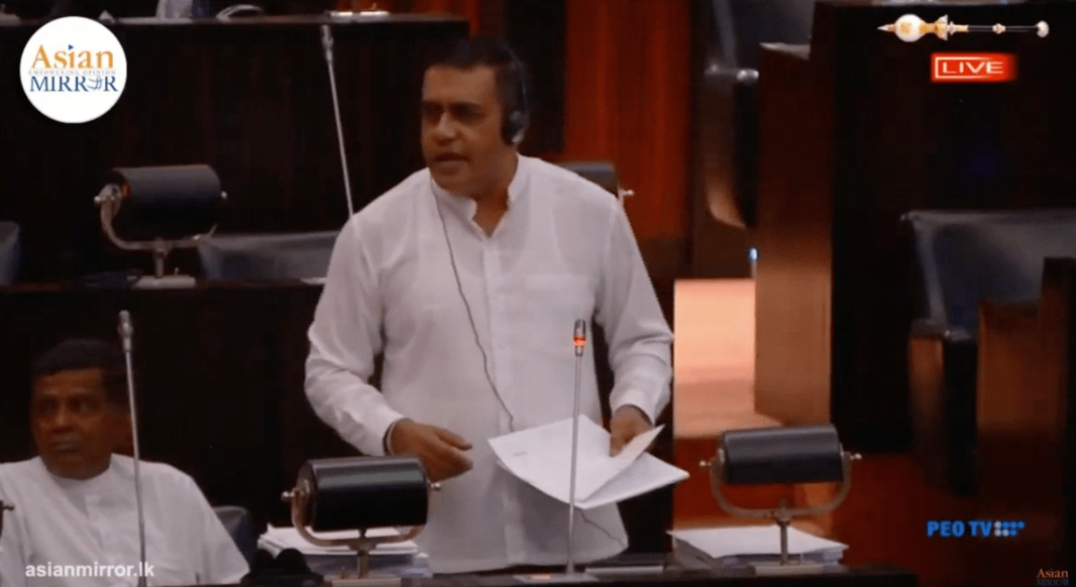 [VIDEO] Dubai-Based IPG Hasn't Paid A Single Cent To Sri Lanka For LPL Thus Far: Opposition Says In Parliament
