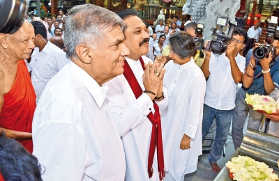 """Opposition Leader Rajapaksa Contacted Prime Minister Over The Telephone And Asked If Oil Refinery Could Be Moved To Trincomalee:"" RW Allies"