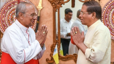 President Says Sri Lanka Terrorist Attacks Is A Global Issue: Says He Invited Cardinal Malcolm Ranjith And Other Experts To Security Council Meetings
