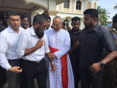 "Cardinal Visits Negombo In the Wake Of Clash And Addresses Muslim Community: ""We Are All Children Of Abraham And Let Our Faith Unite Us"""