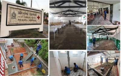 Harpic Mission Wellbeing Supports Fight against Covid-19 in the Gampaha District