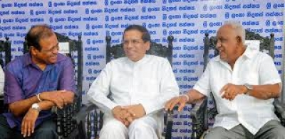 President Sirisena Says He Opposes UNP's Plans Of Forming National Government With A Party Having Only One Seat In Parliament