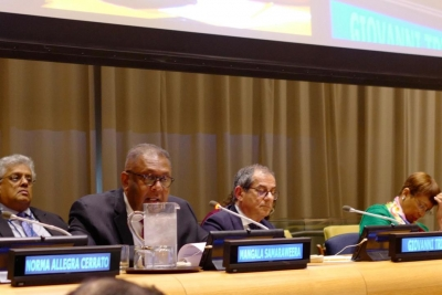 Finance Minister Shares Sri Lanka's Experience At UN ECOSOC Forum In New York
