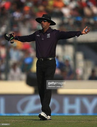 Kumar Dharmasena Becomes ICC Umpire Of The Year For Second Time: Dimuth Karunaratne Included In ICC Test Team