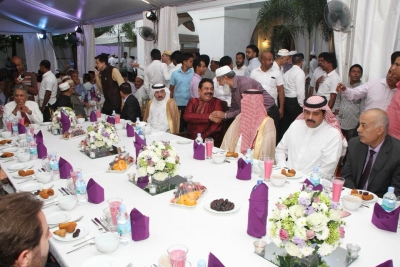 Former President Rajapaksa Hosts Iftar Ceremony For Islam Devotees At His Official Residence
