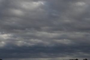 Met. Department Forecasts Cloudy Skies, Heavy Showers And Rough Winds For Today