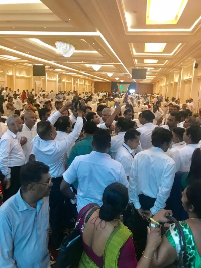 Prime Minister Meets UNP LG Representatives Of Three Districts To Consolidate His Position Following Sajith Premadasa's Rally In Badulla
