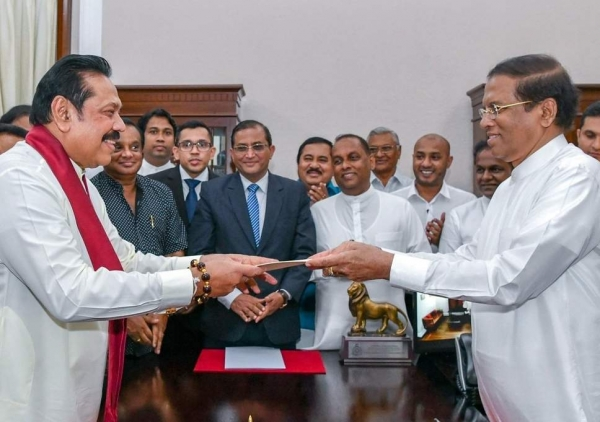 New Cabinet, State And Deputy Ministers Take Oaths: Duminda Back In Cabinet: No Crossovers From UNP Today