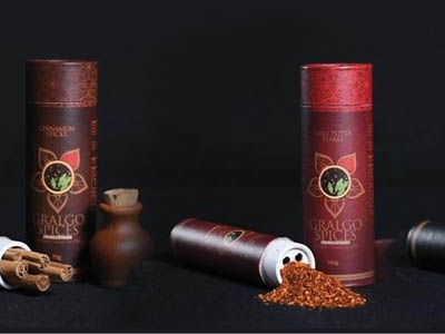 'Gralgo Spices from Ceylon', home grown organic spices to Europe market