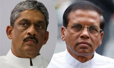 "President Sirisena Hits Out At Sarath Fonseka: ""Military Suffered Monumental Setbacks Under The Command Of Those Experts"""