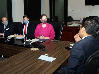 US-SL discuss backlog of court cases