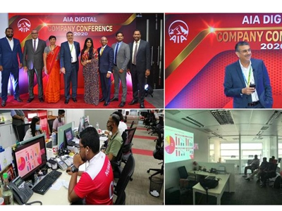 AIA Insurance takes the Annual Company Conference Online!