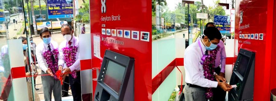 Seylan Bank installs new ATM at Rathnapura Teaching Hospital