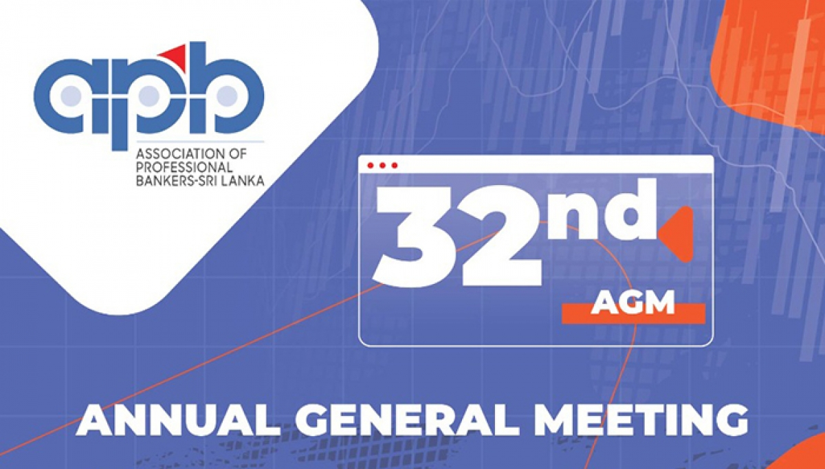 Association of Professional Bankers Sri Lanka to hold 32nd AGM on 25 March