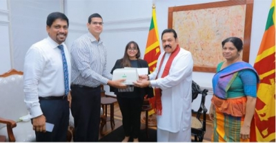 Dr. K.Thiyagarajah Iraivan - Executive Director, Melsta Hospitals/ CEO, Melsta Health Pvt Ltd, Hasitha Jayawardena – Director, Melstacorp PLC, Stasshani Jayawardena – Director, Aitken Spence PLC, Hon. Mahinda Rajapaksa, Prime Minister of the Democratic Socialist Republic of Sri Lanka, and Mrs. Bhadrani Jayawardena, Secretary Ministry of Health and Indigeneous Medical Services.