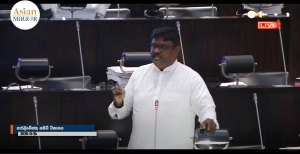 [VIDEO] Controversy In Parliament: TNA MP Wishes Slain LTTE Leader Prabhakaran For His Birthday During Parliament Speech