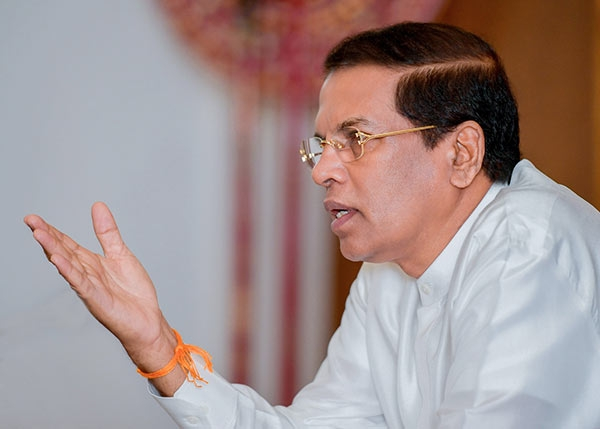 "President Sirisena Now Says He Wants To ""Correct"" Problematic Areas Of 19th Amendment"