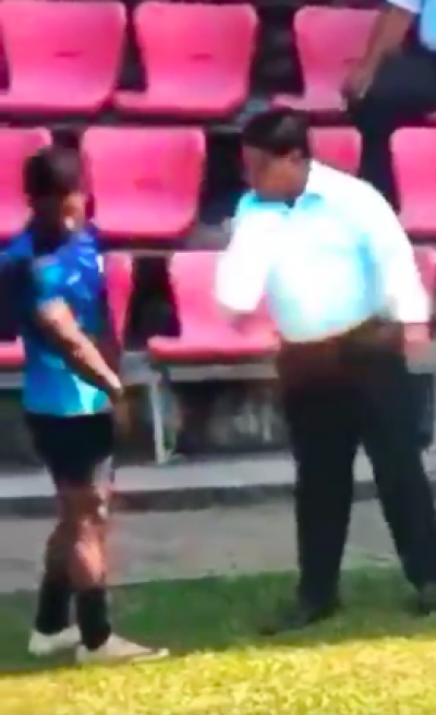 Footage Of Teen Rugby Player Being Slapped Numerous Times By Coach Causes Outrage [VIDEO]