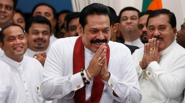 Opposition Leader Mahinda Rajapaksa To Be Sworn In As Prime Minister For The Third Time Today