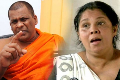 Gnanasara Thera Sentenced To 06 Month Imprisonment For Threatening Sandhya Ekneligoda In Court Premises