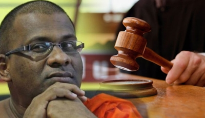 Homagama HC Suspends Gnanasara Thera's 6 Month Imprisonment For 05 Years: Monk's Allies Confident He Will Soon Get Presidential Pardon