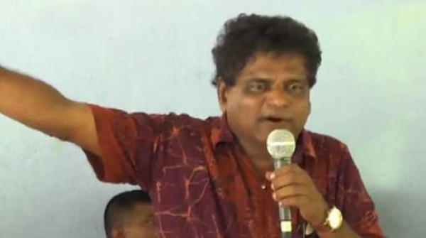 "[VIDEO] State Minister Fires Fresh Salvo At Sarath Weerasekera: ""Politically, If He Weighs 1 Kilo I Weigh 100 Kilos"""