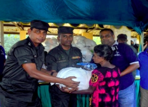 Kotagala Plantations Up-Country Region Assists Flood Victims In Paranthan