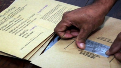 Postal Voting For Local Government Elections Commenced Today: Elections Commission Says 560,000 Applications Accepted