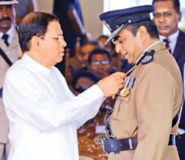 Pujith Did Everything Else Except For The Duties Of IGP: Former President Sirisena