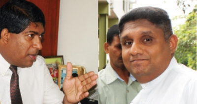 Sajith Launches Scathing Attack On Ravi Karunanayake: Says A Person Who Robbed A Bank Will Never Be Held In High Esteem In Society