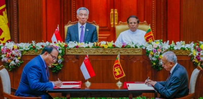 Sri Lanka Enters Into Its First Ever Comprehensive Free Trade Agreement: SL- Singapore FTA Signed