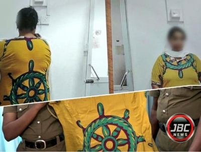 "Woman Who Was Arrested For ""Wearing Dharma Chakraya"" On Her Clothing Remanded Until June 03: Charged Under ICCPR"