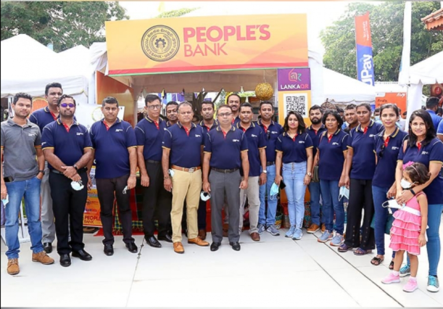 People's bank promotes LankaQR facility in Kandy