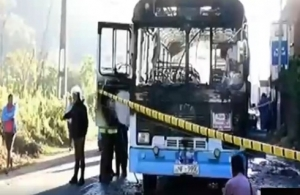 "Sagala Says Bus Fire Due To A Grenade Explosion: ""It Might Have Been In The Bag Of A Passenger"""