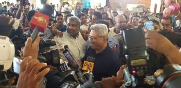 All Necessary Measures To Renounce US Citizenship Adopted Successfully: Gota Says Upon Arrival At BIA